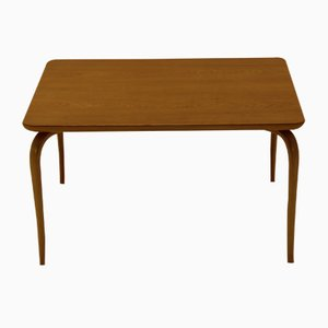 Vintage Annika Oak & Beech Coffee Table by Bruno Mathsson for Karl Mathsson