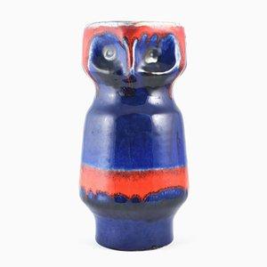 Brocca a forma di gufo in ceramica di Carstens Tönnieshof