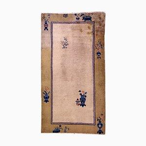 Handgeknüpfter Chinesischer Peking Teppich, 1900er