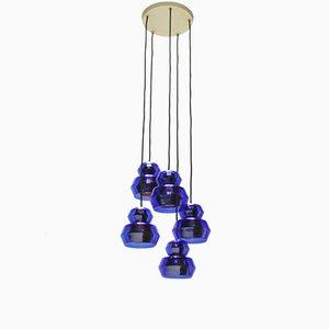 Lampe à Suspension Mid-Century de Vetri Murano
