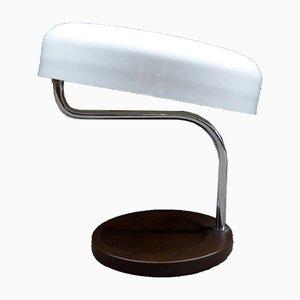 Lampada da scrivania con paralume regolabile, anni '50