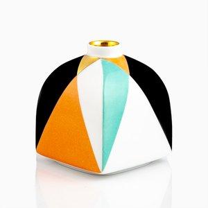 Jarrón Archiv en forma de cubo de Pamono x KPM, 2018