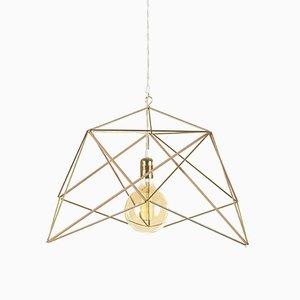 Lampe Hemmi- Icosahedron par Nicolas Brevers pour Gobo