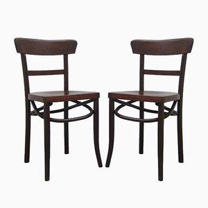 Belgische Vintage Stühle, 2er Set