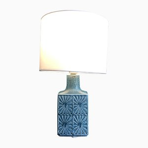 Danish Ceramic Table Lamp by Desiree Stentoj, 1970s