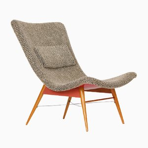 Mid-Century Stuhl von Miroslav Navratil für Cesky Nabytek, 1960er