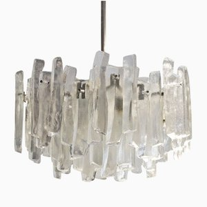 Fuente Glass Chandelier from Kalmar