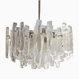 Fuente Glass Chandelier from Kalmar