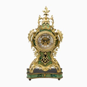 Reloj de repisa antiguo Fine Gustav Becker