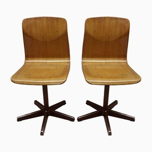 School Chairs from Galvanitas, 1980s, Set of 2