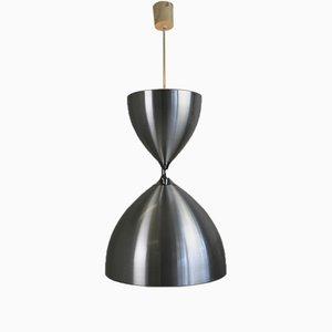 Lámpara colgante Vega grande de Jo Hammerborg para Fog & Mørup, 1968