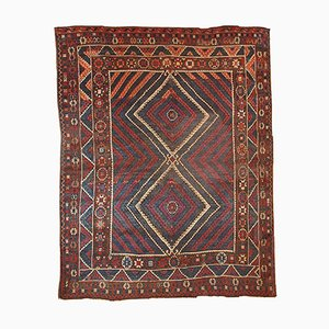 Antique Turkish Bergama Handmade Rug, 1880s