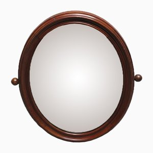 Vintage Jugendstil Spiegel mit Holzrahmen