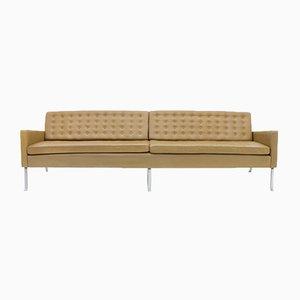 Sofá modelo 462S de cuero de 4 asientos de Roland Rainer, 1956