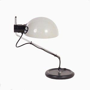 Lampe de Bureau Vintage Blanche de Guzzini, 1980s
