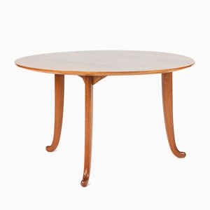 Tavolino da caffè in mogano di Josef Frank per Svenskt Tenn, anni '40