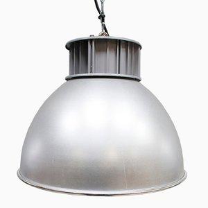 Vintage Industrial Aluminum Pendant Lamp from AEG