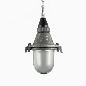 Industrial Soviet Pendant Light, 1960s