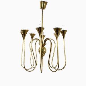 Lámpara de araña italiana, años 40