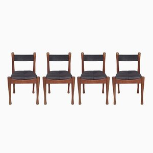 Dining Chairs by Silvio Coppola for Bernini, 1960s, Set of 4