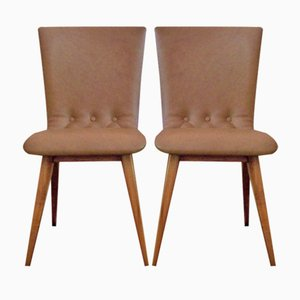 Dutch Dining Chairs from Van Os Culemborg, Set of 2