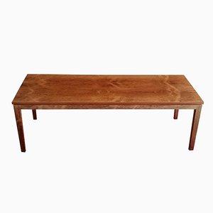 Mesa de centro vintage grande de palisandro