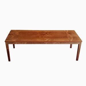 Vintage Large Rosewood Coffee Table