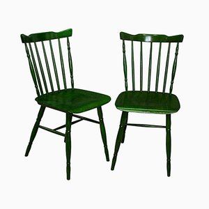 Postmodern Dining Chairs from TON, 1984, Set of 2