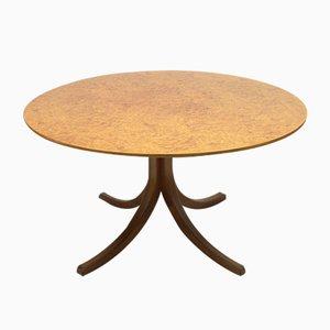 Table de Salle à Manger Model 1020 Root en Placage par Josef Frank pour Svenskt Tenn, 1960s