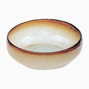 Ciotola o posacenere in vetro di Murano, anni '50
