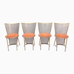 Limited Edition Messing Stühle aus der Weltausstellung von Frans Van Praet für Belgo Chrom / Dewulf Selection