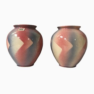 West German Vases 650-21 from Bay, Set of 2