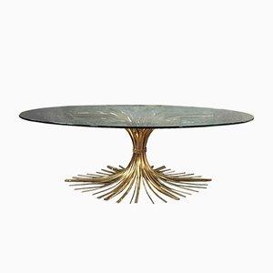 Mid-Century Wheat Sheaf Coffee Table
