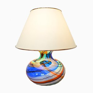 Vintage Italian Murano Table Light, 1970s