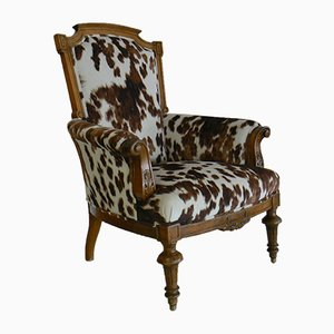 Antique Walnut Armchair