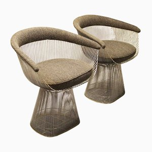 Modell 1725A Armlehnstühle von Warren Platner für Knoll International, 1960er, 2er Set