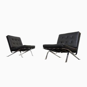 Vintage RH-301 Lounge Chairs by Robert Hausmann for de Sede, Set of 2