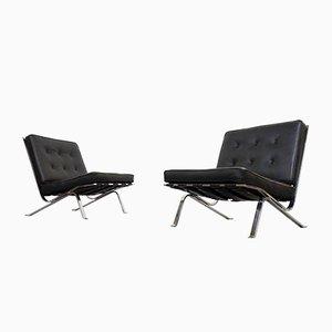 Vintage RH-301 Polsterstühle / Sessel von Robert Hausmann für de Sede, 2er Set