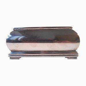 Scatola portasigari in argento di S.J. Christensen, anni '30