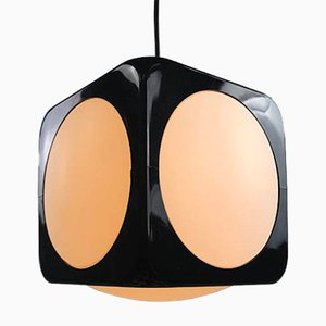 Space Age Square Ceiling Light from Ikea, 1970s