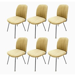 Chairs by Gastone Rinaldi for Rima, 1950s, Set of 6