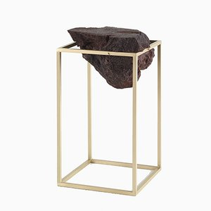 Large Brass Antivol Table by CTRLZAK for JCP
