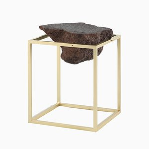 Small Brass Antivol Table by CTRLZAK for JCP