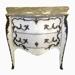 Antique Swedish Rococo Commode, 1860s