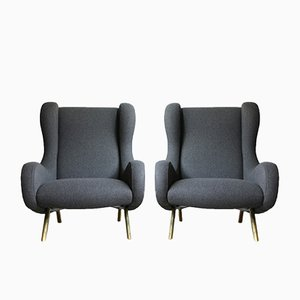 Model Senior Armchairs by Marco Zanuso for Arflex, 1951, Set of 2