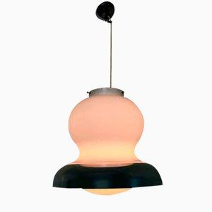 Lampe à Suspension Courbée Mid-Century, Italie,1970s