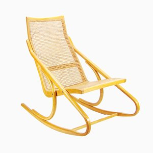 Mid-Century Rocking Chair by Arch. Antonín Šuman for TON, 1960s