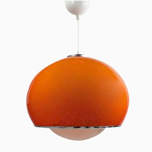 Space Age Ceiling Light by Harvey Guzzini for Studio G 6, 1970s