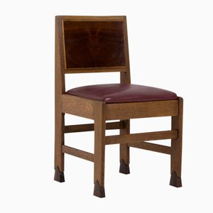 Art Deco Amsterdam School Chairs by Paul Bromberg, 1920s, Set of 6