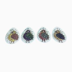 Small Dishes by Beth Breyen for Royal Copenhagen, Set of 4